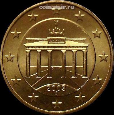10 евроцентов 2003 J Германия. Бранденбургские ворота.