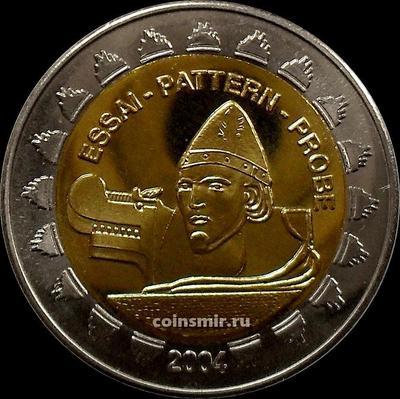 2 евро 2004 Исландия. Ингольф Арнарсон. Европроба.