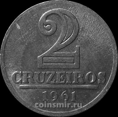 2 крузейро 1961 Бразилия.