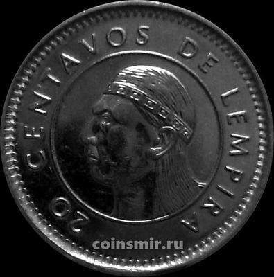 20 сентаво 1999 Гондурас.