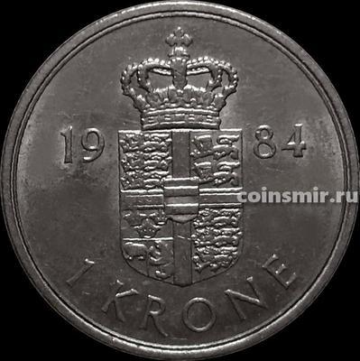 1 крона 1984 R;В Дания.