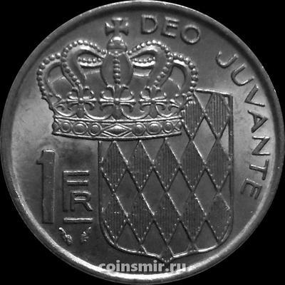 1 франк 1977 Монако.