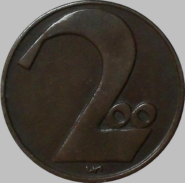 200 крон 1924 Австрия.