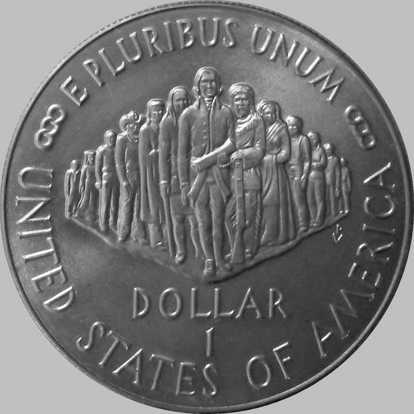 1 доллар 1987 S США. 200-летие Конституции.