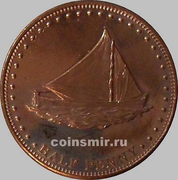 1/2 пенни 2008 остров Столтенхоф.
