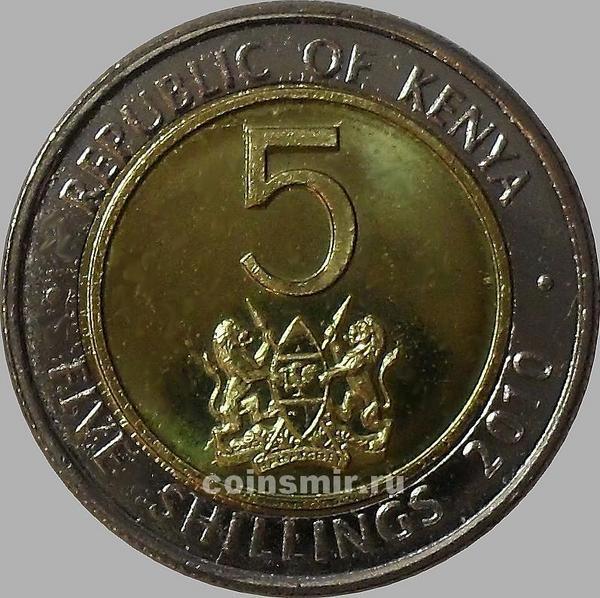 5 шиллингов 2010 Кения.