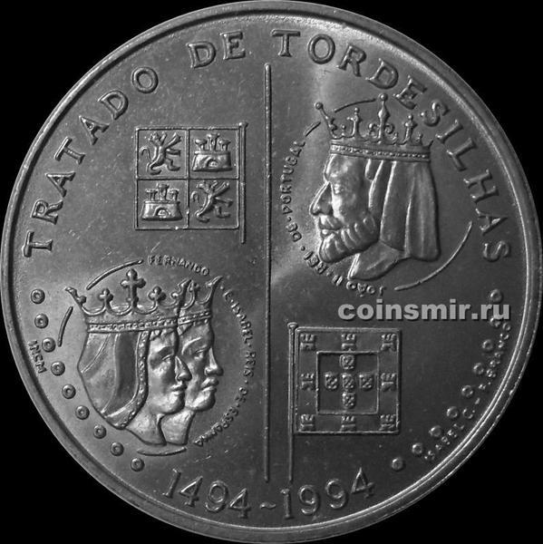 200 эскудо 1994 Португалия. 500 лет Тордесильясскому договору.