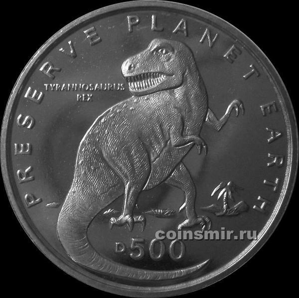 500 динар 1993 Босния и Герцеговина. Тираннозавр Рекс.