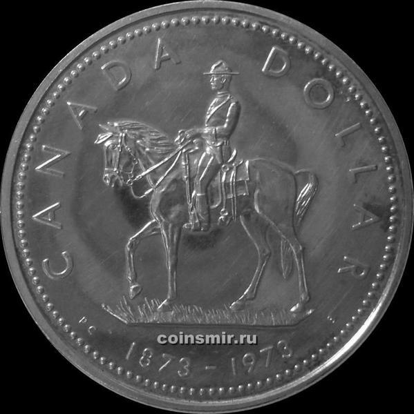 1 доллар 1973 Канада. Конная полиция.