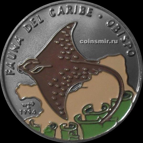 1 песо 1994 Куба. Скат.