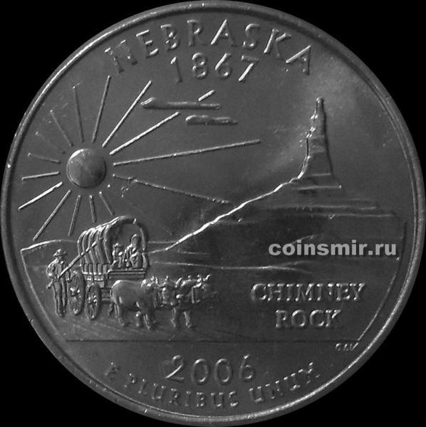 25 центов 2006 Р США. Небраска.