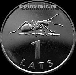 1 лат 2003 Латвия. Муравей.