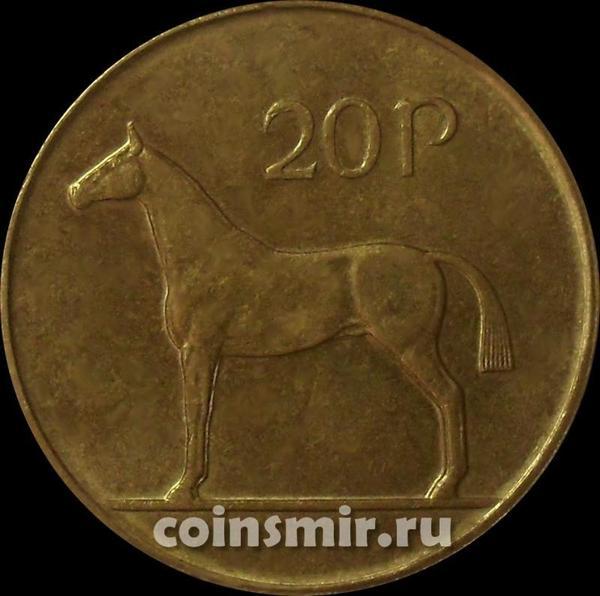 20 пенсов 1995 Ирландия. Лошадь.
