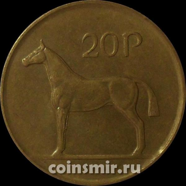 20 пенсов 1988 Ирландия. Лошадь.