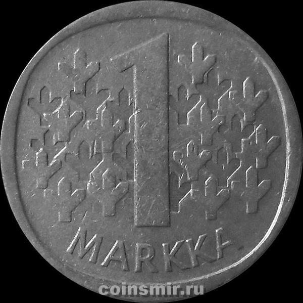 1 марка 1966 Финляндия.