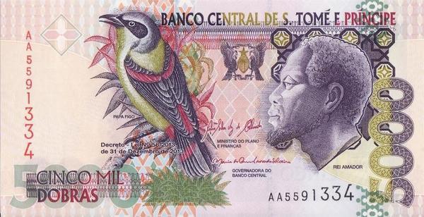5000 добр 2013 Сан-Томе и Принсипи.