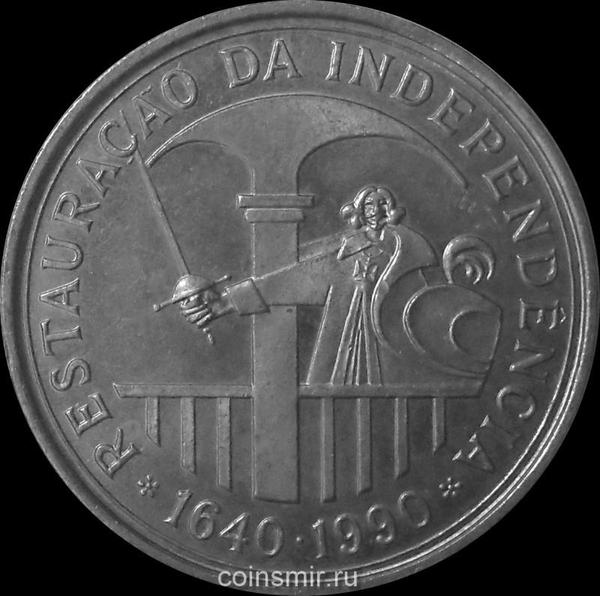 100 эскудо 1990 Португалия. Восстановление португальской независимости. 350 лет.