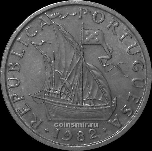 5 эскудо 1982 Португалия.