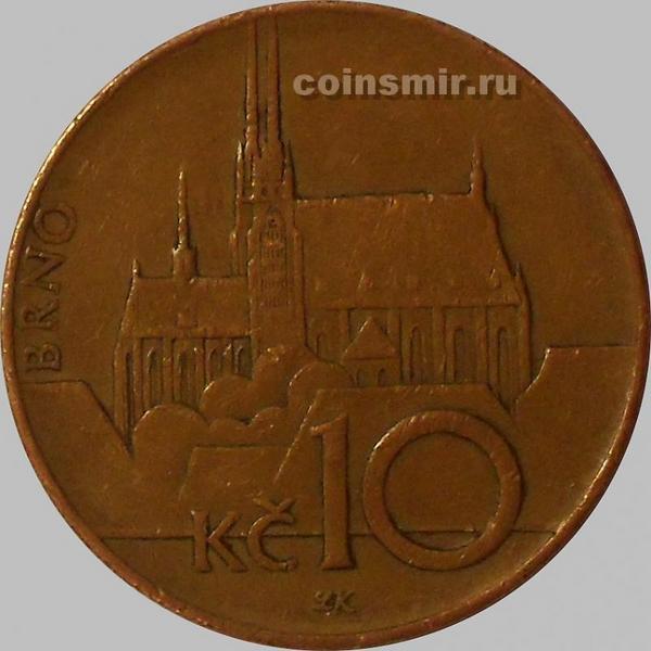 10 крон 2003 Чехия. (в наличии 1994 год)