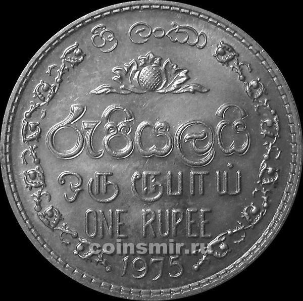 1 рупия 1975 Шри Ланка.