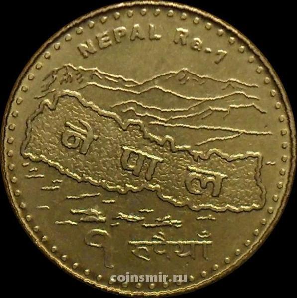 1 рупия 2009 Непал. XF