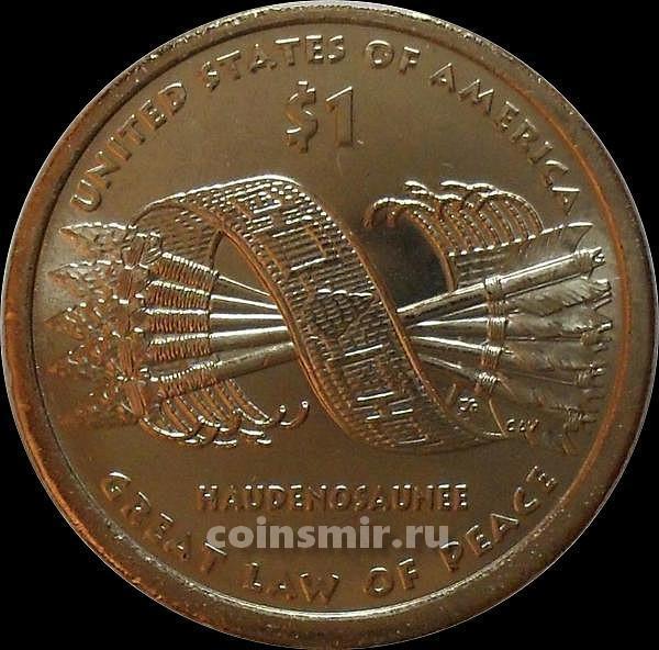 1 доллар 2010 D США. Стрелы.