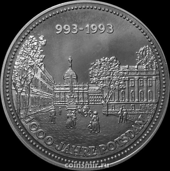 Жетон 1993 Германия. 1000 лет Потсдаму. Городская площадь.