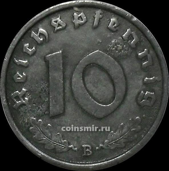 10 пфеннигов 1944 В Германия.