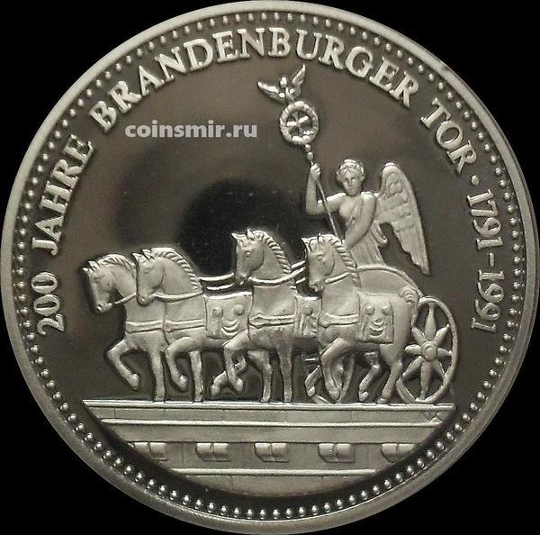 Жетон 1991 Германия. 200 лет Бранденбургским воротам.