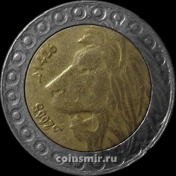 20 динаров 2005 Алжир. Лев. (в наличии 2009 год)