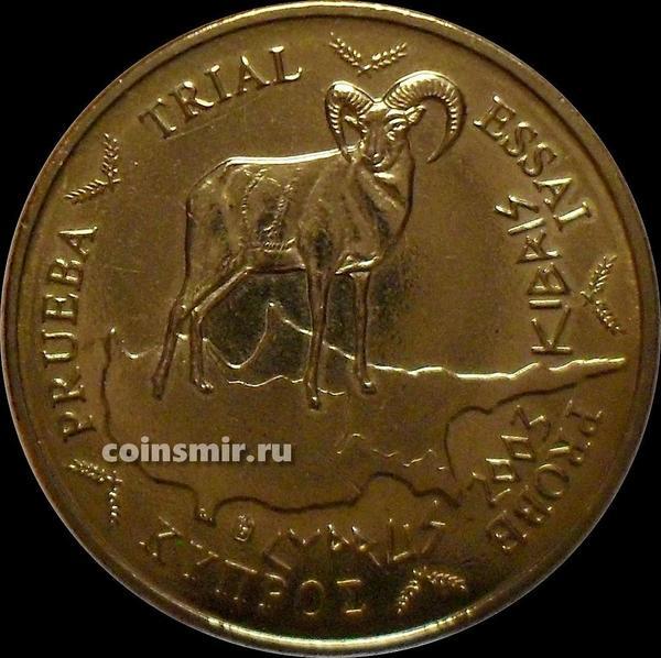10 евроцентов 2003 Кипр. Европроба. Specimen.