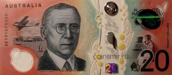 20 долларов 2019 Австралия.