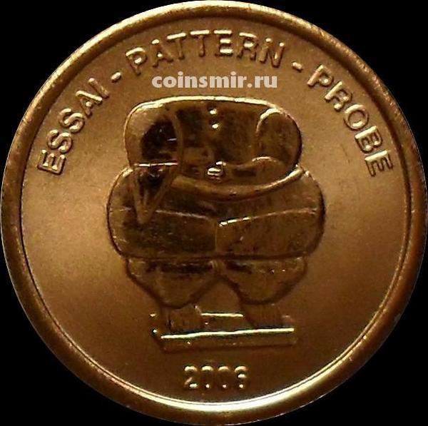 1 евроцент 2006 Мальта. Европроба. Xeros-ceros.