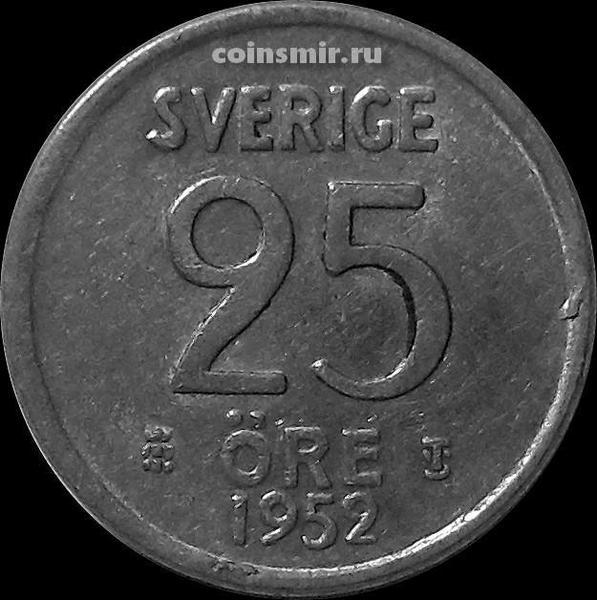25 эре 1952 TS Швеция.