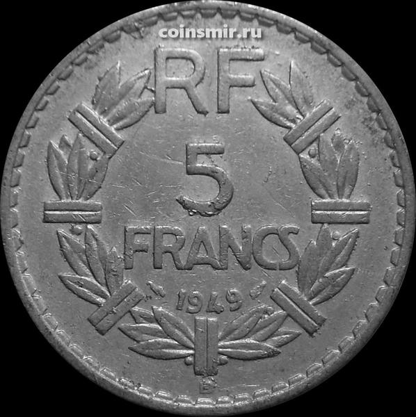 5 франков 1949 В Франция.
