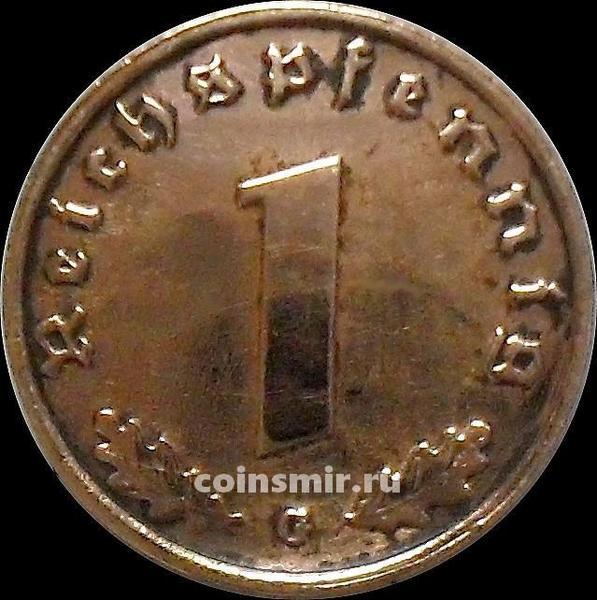 1 пфенниг 1939 G Германия.
