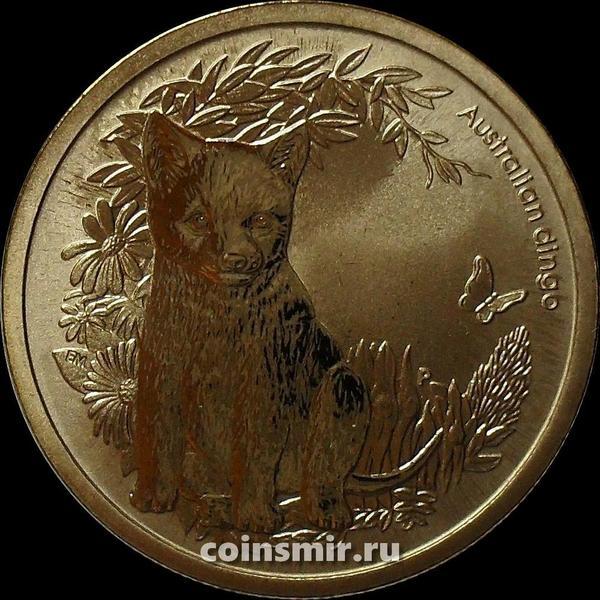 1 доллар 2011 Австралия. Динго.