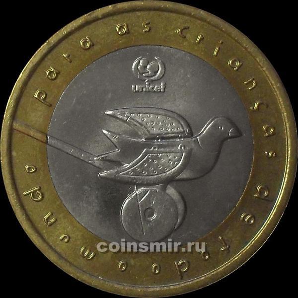 200 эскудо 1999 Португалия. ЮНИСЕФ.