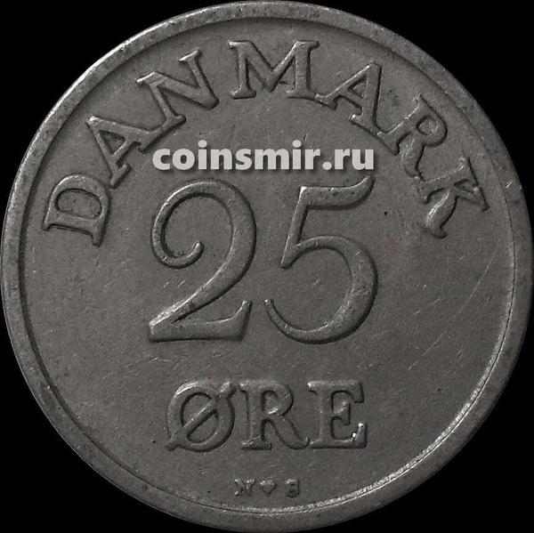 25 эре 1950 Дания.