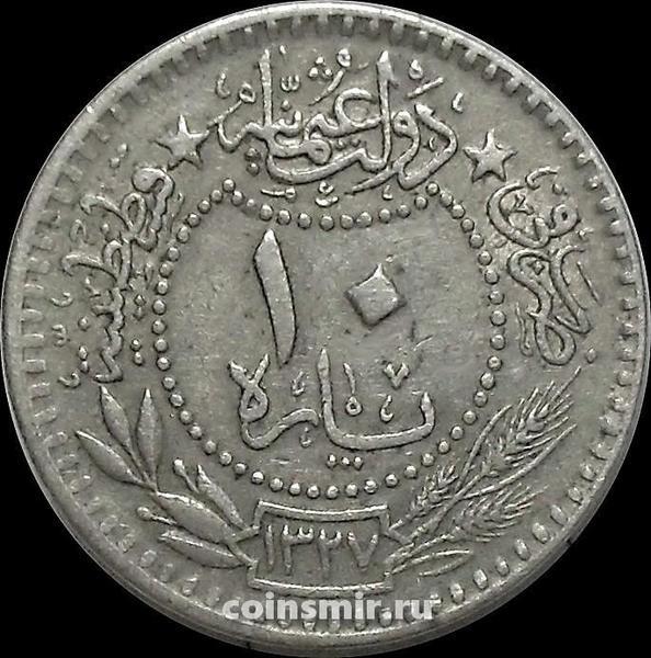 10 пара 1912 (1327/4) Турция. Османская империя.