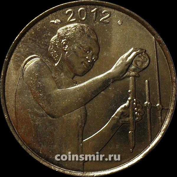 25 франков 2012  КФА BCEAO Западная Африка. ФАО.