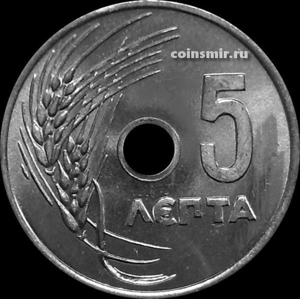 5 лепт 1954 Греция.