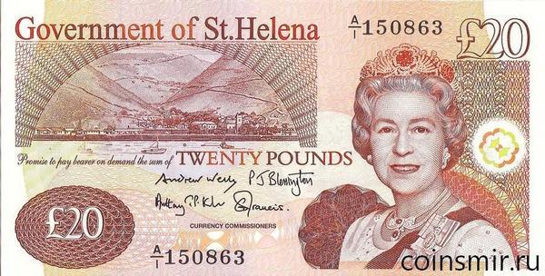 20 фунтов 2012 остров Святой Елены.