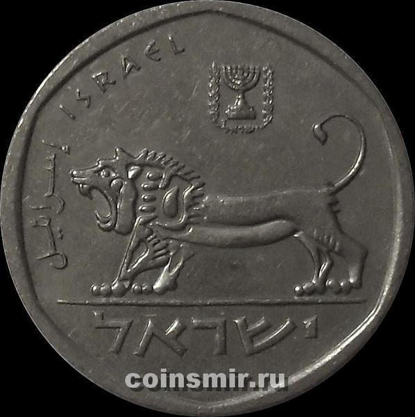 1/2 шекеля 1980 Израиль.