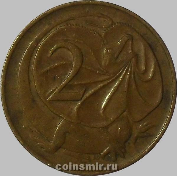2 цента 1966 Австралия.