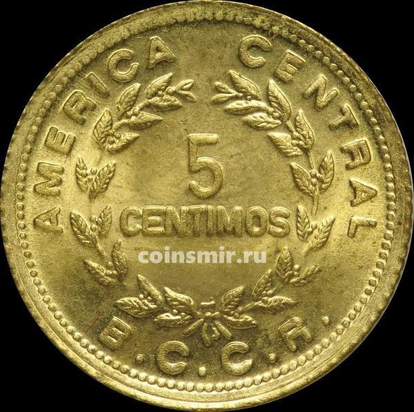 5 сентимо 1979 Коста-Рика.
