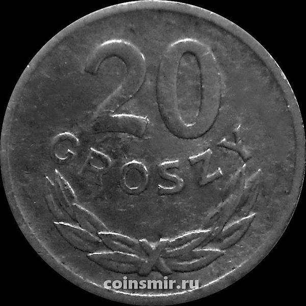 20 грошей 1969 Польша.