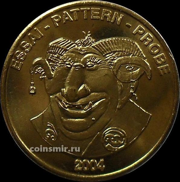 20 евроцентов 2004 Исландия. Тролль. Европроба.