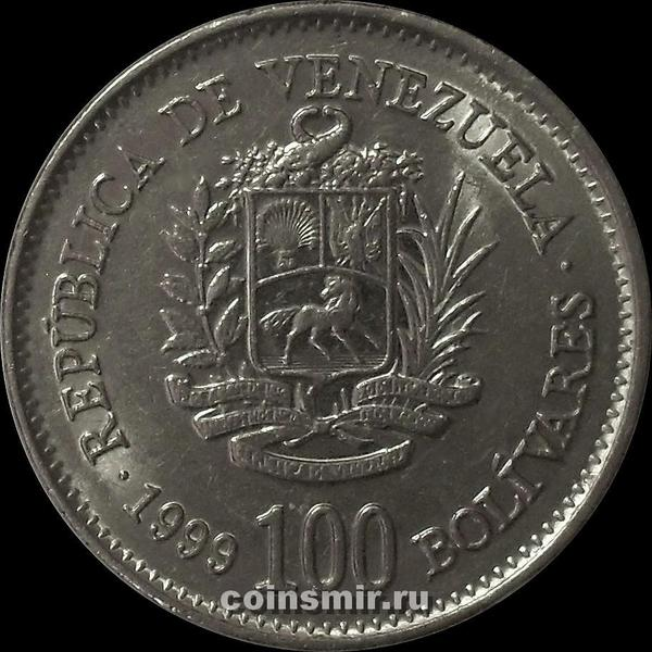 100 боливаров 1999 Венесуэла.