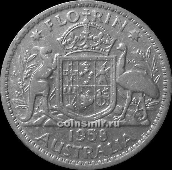 Флорин 1958 Австралия.
